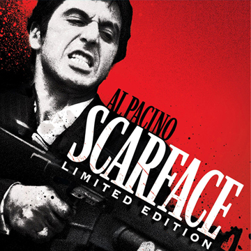 SCARFACE LOGO MONEY CLIP label