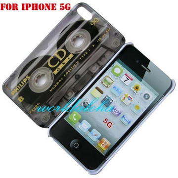 Cassette Tape Hard Cover For Apple iPhone 5 back