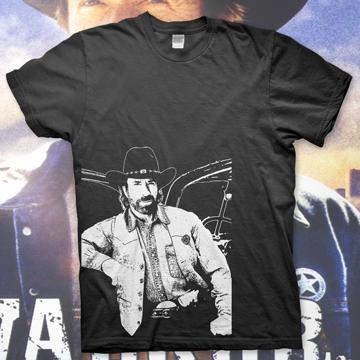Chuck Norris – Walker Texas Ranger  – T Shirt