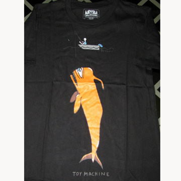 BIG FISH! TOY MACHINE T-SHIRT