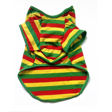 RASTA Dog Clothes [SIZE M] back