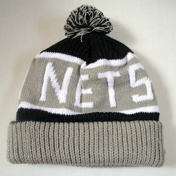 Brooklyn Nets Knit Cap back