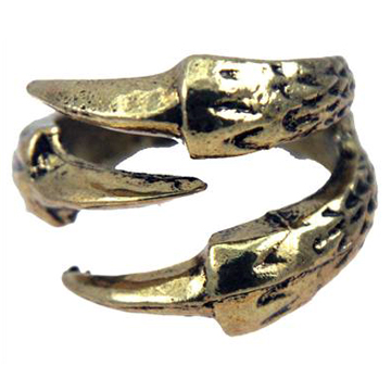 Claws Gold Ring