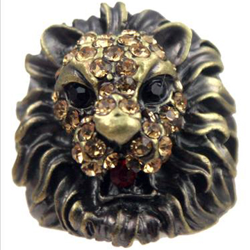 Bronze Lion Ring