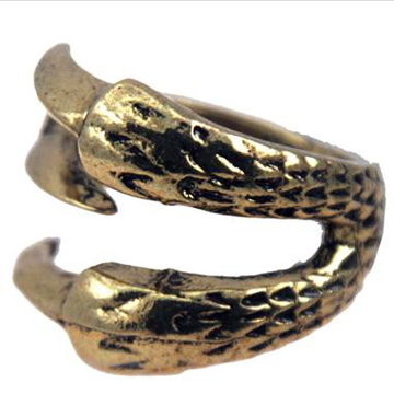 Claws Gold Ring back
