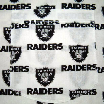 OAKLAND RAIDERS APRON back