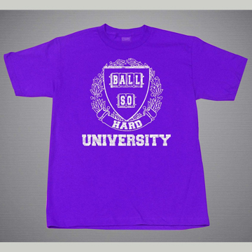 BALL SO HARD UNIVERSITY  T-SHIRTS [SIZE L]