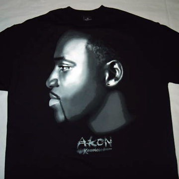 AKON Konvicted T SHIRT XL