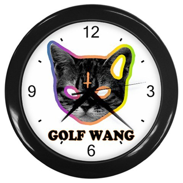 OFWGKTA Odd Future Golf Wang Kill Them All Wall Clock