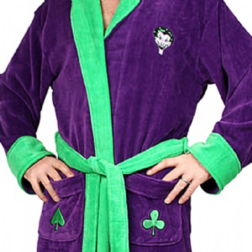 BATMAN The Joker 100% Cotton Bath Robe