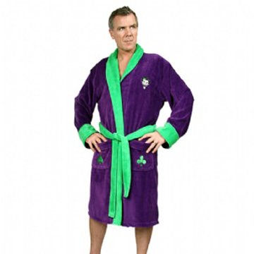 BATMAN The Joker 100% Cotton Bath Robe label