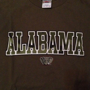 Alabama  T-Shirt XL back
