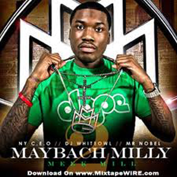 [Size XL] Meek Mill Hangs With Me T Shirt back
