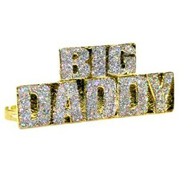 Big Daddy Four Finger Ring label