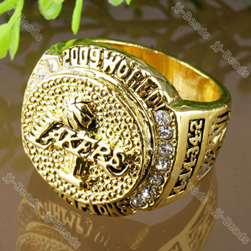 LA Lakers 2009 NBA Championship Men's Ring Replica