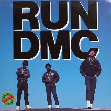 RUN DMC TOUGHER THAN LEATHER  PATCH label