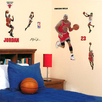 MICHAEL JORDAN Wall DECALS