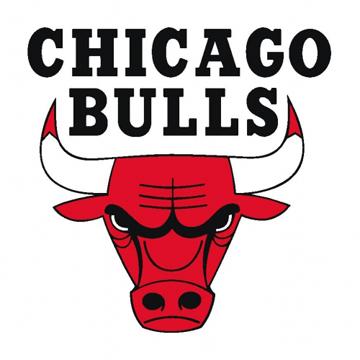 Chicago Bulls Basketball Fleece Scarf label