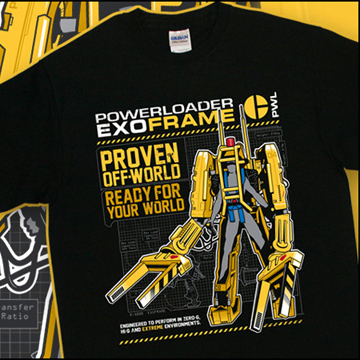 Aliens 2 Powerloader T-Shirt