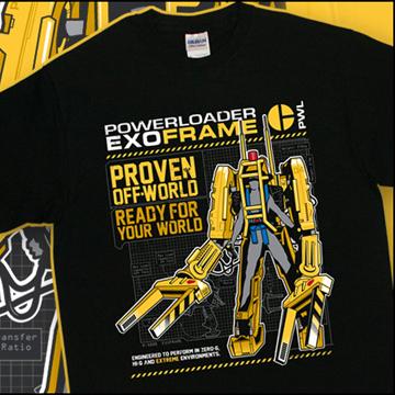 Aliens 2 Powerloader T-Shirt