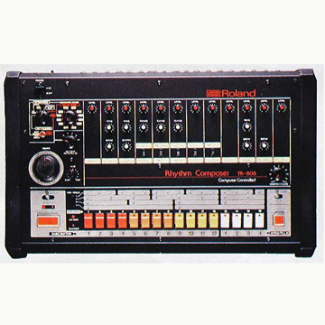 TR-808 iPhone 4/4S CASE label