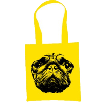 Pug Dog Eco Tote Bag