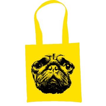 Pug Dog Eco Tote Bag