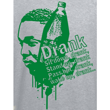 "Kendrick Lamar Sweat Shirt ""Swimming Pools (Drank)"" back"