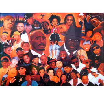 Hip Hop Allstars – Poster