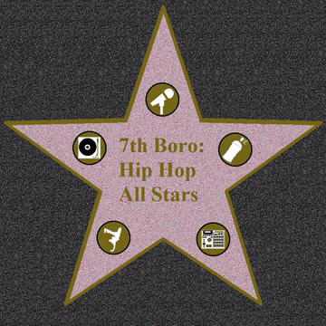 Hip Hop Allstars – Poster label