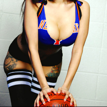 NEW YORK KNICKS Tバック label