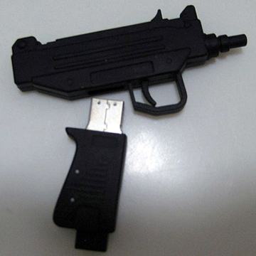 UZI Machine Gun  USB Flash Memory 4G