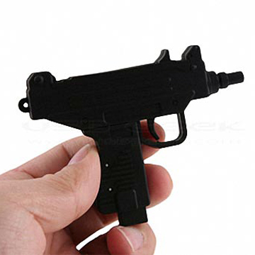 UZI Machine Gun  USB Flash Memory 4G back