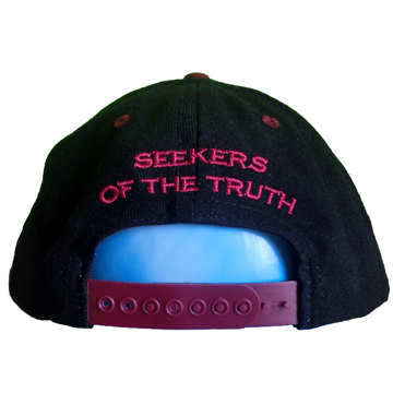 QUINTIN 20%666 -SEEKERS OF THE TRUTH- SNAPBACK CAP back