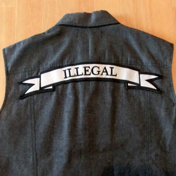 BLVCK SCVLE VEST -ILLEGAL- label
