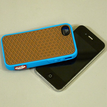 VANS iphone4 CASE BLUE back
