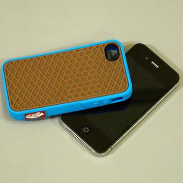 VANS iphone4 CASE BLUE back