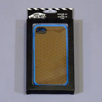 VANS iphone4 CASE BLUE label