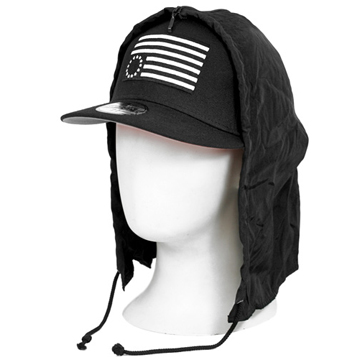 NEWERA×BLACK SCALE WVTERPROOF REBEL BLACK
