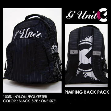 "G-UNIT  ""PIMPING BACK PACK"""