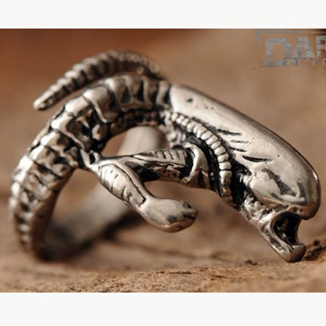 Men's Alien Ring label