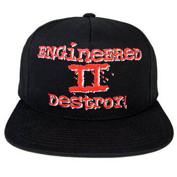 【MISHKA】ENGINEERED II MENACE! SNAPBACK front
