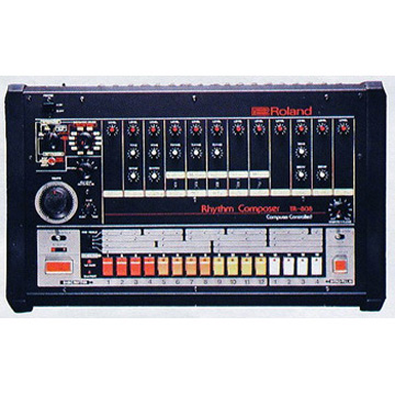 Cushion TR-808 label