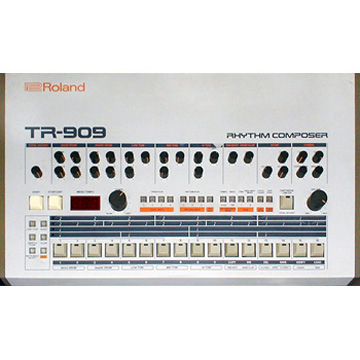 Cushion TR-909 label
