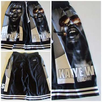 KANYE WEST SHORTS back
