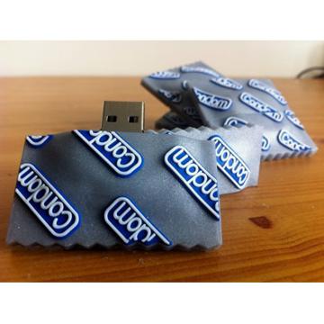 【 メール便対応可 】コンドーム型 USBメモリー 8G back