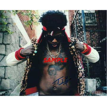 Trinidad Jame$ SIGNED AUTOGRAPH PHOTO (replica) front