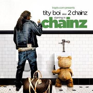2 CHAINZ 缶バッジセット B label