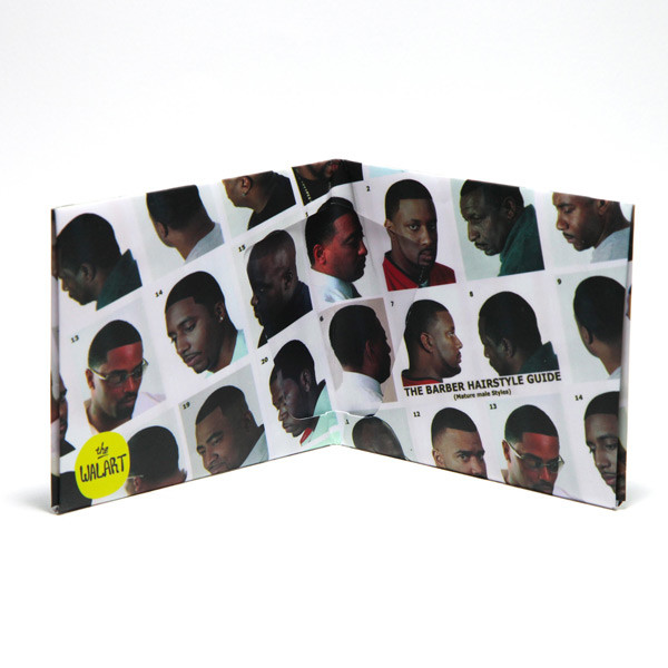BLACK HAIR CATALOG PAPER WALLET<br />黒人ヘアーカタログ 財布 label
