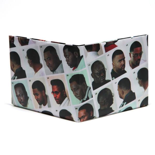BLACK HAIR CATALOG PAPER WALLET<br />黒人ヘアーカタログ 財布 label